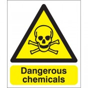Chemical Hazard Warning Safety Signs (40)