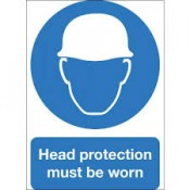 Head Protection Signs (3)
