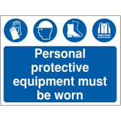 PPE Personal Protective Equipment Safety Signs (46)