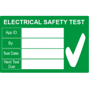 Pat Test / Electrical Test Labels (0)