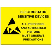Electrostatic Discharge Warning Labels and Signs (5)