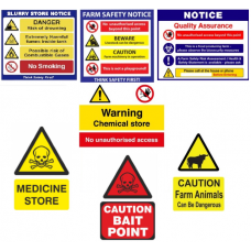 Farm Signs Pack - Bord Bia & Cross Compliance (8 Sign Pack)