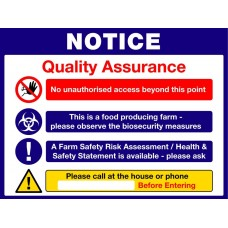 Bord Bia Quality Assurance Sign
