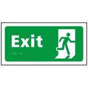 Access And Escape Safety Signs (58)