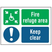 Disabled Guidance Safety Signs (3)