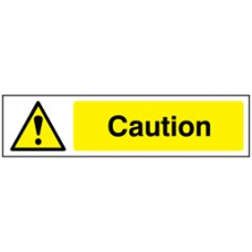 Caution, mini safety sign.