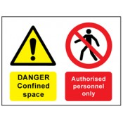 Access Prohibition Safety Signs (4)